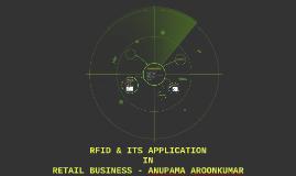 RFID & ITS APPLICATION