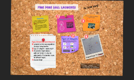 Ping Pong Ball Launcher Research and Design