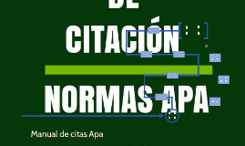 Manual de citas Apa