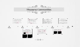 Discourse Communities and Fieldworking