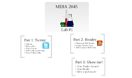 MDIA - 2045 Lab #1