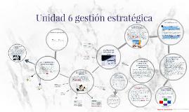 Copy of unidad 6 gestion estrategica