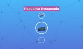Republica Restaurada