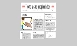Texto y sus propiedades