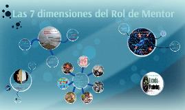 Las 7 dimensiones del Rol de Mentor