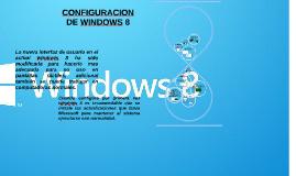 CONFIGURACION DE WINDOWS 8