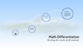 Math Differentiation