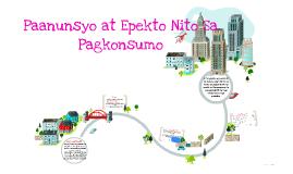 Copy of Paanunsyo at Epekto Nito Sa Pagkonsumo