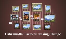 Copy of Cabramatta: Factors Causing Change