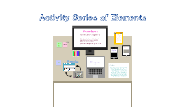 Activity Series of Elements - Sabrina Fabiano