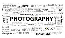 Introduction to digital photography 1
