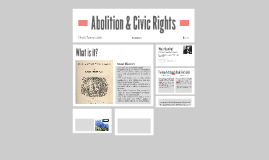 Abolition & Civic Rights