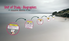 Unit of Study : Biographies