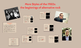Other Styles of the 80s: Alt Rock