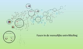 Copy of Fasen in de menselijke ontwikkeling