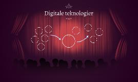 Digitale teknologier