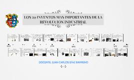 Copy of 20 Inventos de la Revolucion Industrial mas usados