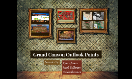 Grand Canyon Outlook Points