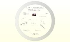 CTFD Honor Guard