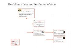 Revolution of 1800.