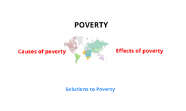Poverty - Causes, Effects and Solutions