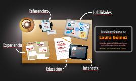 Desktop Prezumé de Laura Paraguay
