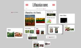 Lithuanian knews
