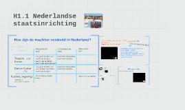 1.4 Nederland als rechtsstaat