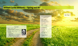 """William Carlos Williams - """"Spring and All"""""""