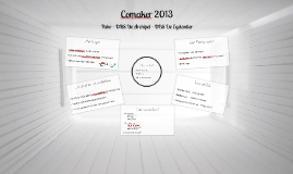Comaker 2013 Archipel