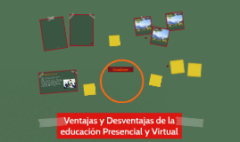 Copy of Ventajas y Desventajas de la educación Presencial y Virtual