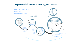 Exponential Growth, decay vs linear2