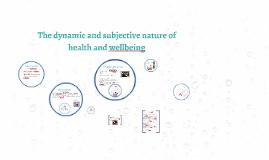 U3 Health and Wellbeing