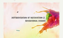 2015 여름연수 DI & EDUCATIONAL CHANGE