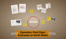 Copy of Operation Pied Piper: Evacuees to North Wales
