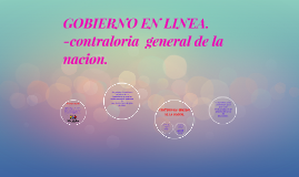 Copy of GOBIERNO EN LINEA.