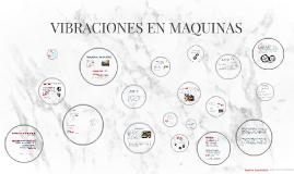 VIBRACIONES EN MAQUINAS