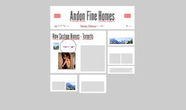 Andon Fine Homes