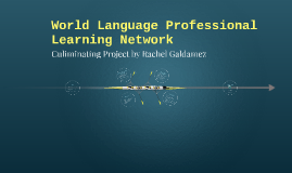 World Language Professional Learning Network