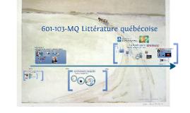 Séquence 2 - Albertine - 601-103 Littérature québécoise