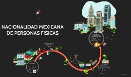 Copy of NACIONALIDAD MEXICANA DE PERSONAS FISICAS