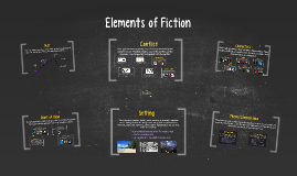 Elements of Fiction Notes with Examples