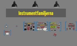 Copy of Copy of Instrumentfamiljerna