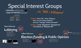 Special Interest Groups & PACs