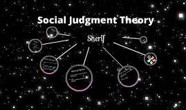 social judgement theory Start studying social judgment theory learn vocabulary, terms, and more with flashcards, games, and other study tools.
