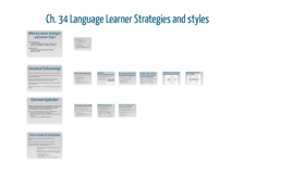 Ch. 34 Language Learner Strategies and styles