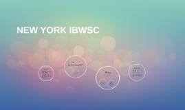 NEW YORK IBWSC