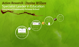 Action Research - Davina Willson