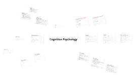 Psychology Cognition