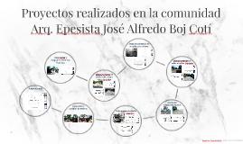 Proyectos realizados en la comunidad